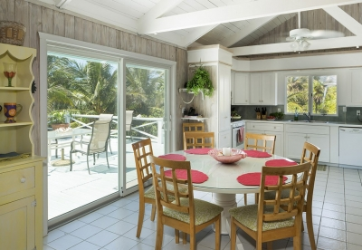 Kitchen & Rear Deck with Indoor/Outdoor Dining