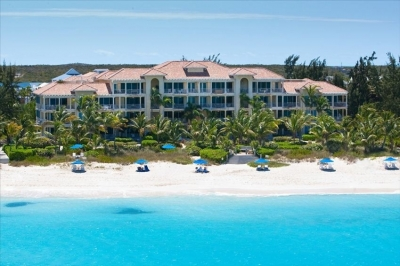 View of Villa Renaissance from Grace Bay