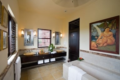 Private luxurious bathrooms for every room.