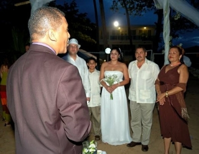 Another Beach Wedding at VillaRosa-Luquillo