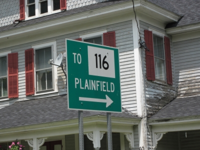 Route 116 Street Signage